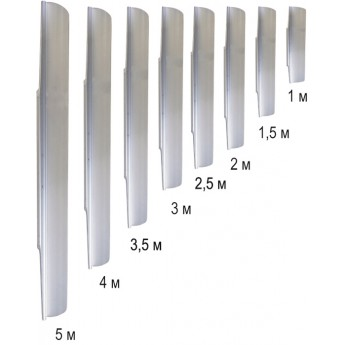 Алюминиевое лезвие 3,5м к РВ-01/РВ-01Д