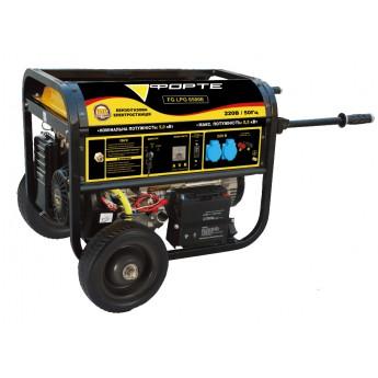 Генератор бензиновый/газовый FORTE FG LPG 6500E