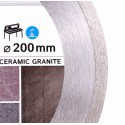 Диск алмазный Distar Bestseller Ceramics Granite 180