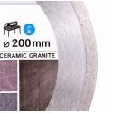 Диск алмазный Distar Bestseller Ceramics Granite 200