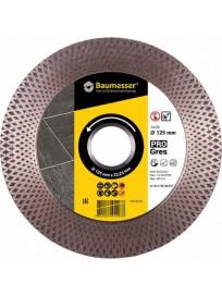 Алмазный диск отрезной Baumesser 1A1R 125x2,0x8/20x22,23 PRO Gres