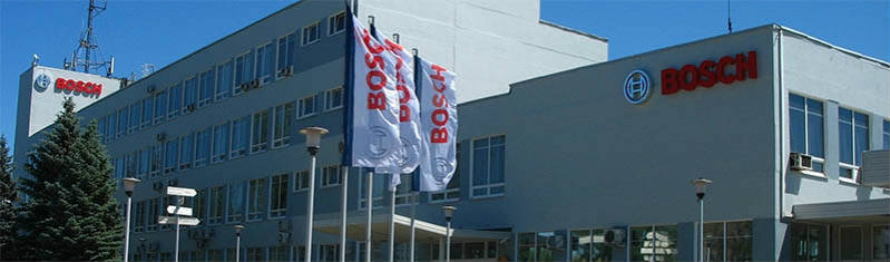 Производство Bosch