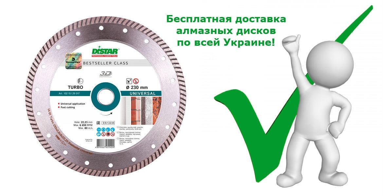 Бесплатная доставка дисков по всей Украине